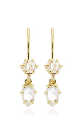 Primary 14K Gold And Diamond Earrings