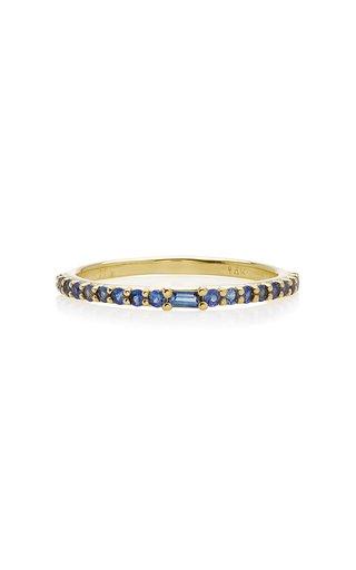 Manava 14K Gold Sapphire Ring