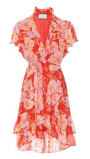 Melyssa All Over Floral Ruffled Mini Dress