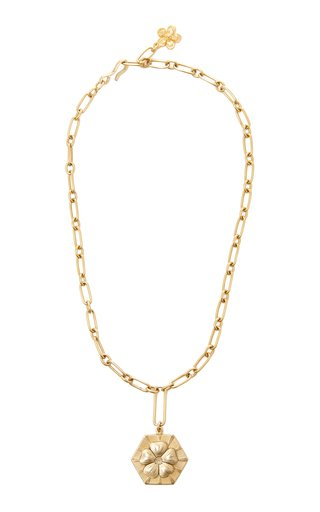 Primrose 24K Gold-Plated Pendant Necklace