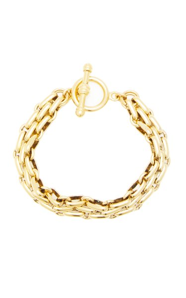 End Game 24K Gold-Plated Chain Bracelet