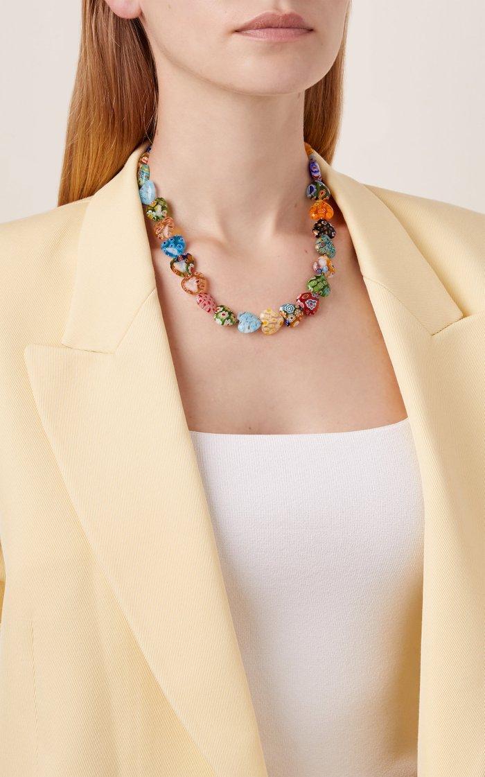 Higher Love Millefiori Heart Necklace