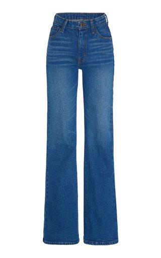 Rigid High-Rise Straight-Leg Jeans