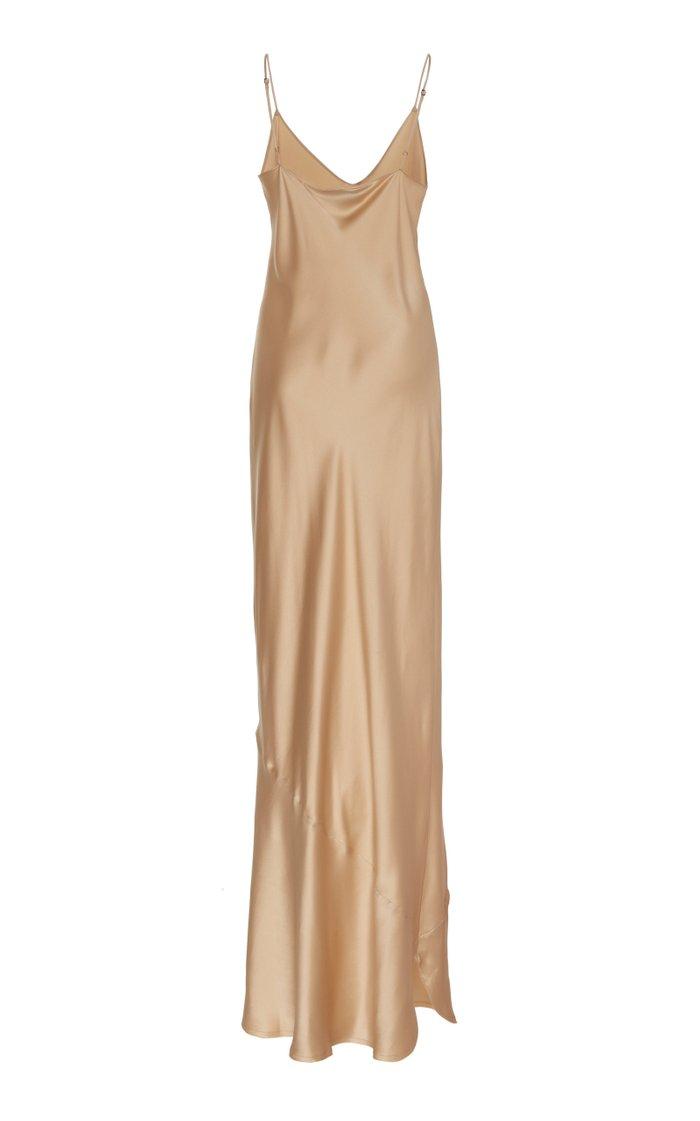 Silk Cami Slip Dress