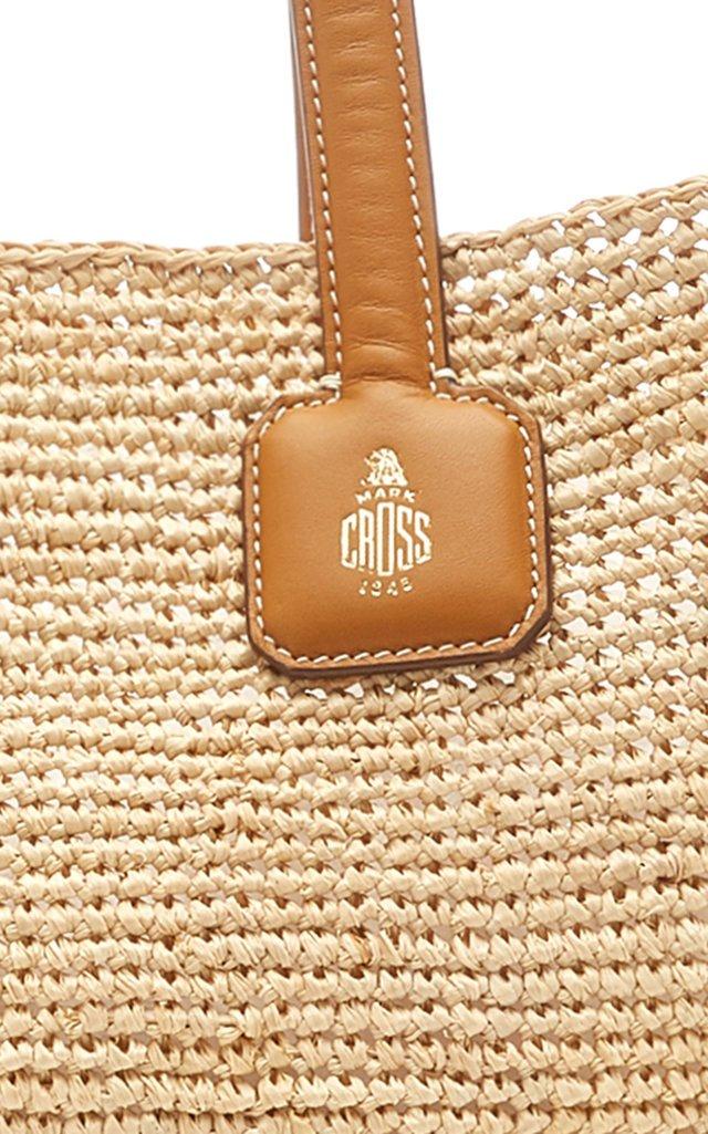 Cote D'Antibes Raffia Tote Bag