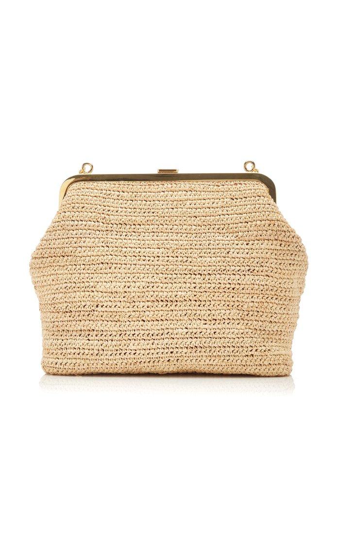 Susanna Raffia Shoulder Bag