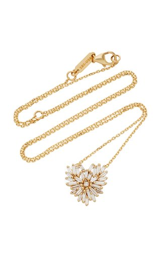 Angel Small 18K Gold Diamond Necklace