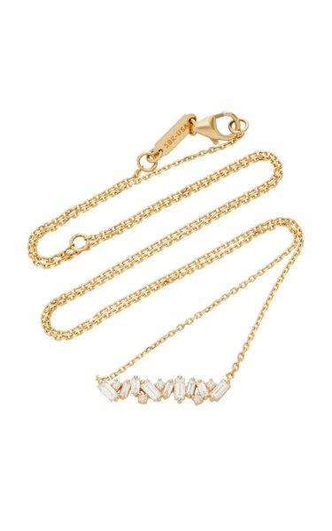 18K Gold Diamond Necklace