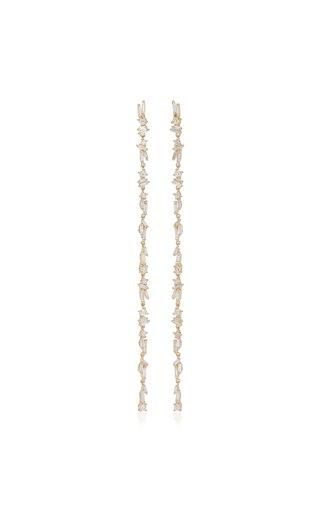 18K Yellow Gold Dangle Earrings