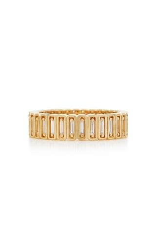 Inlay Collection 18K Yellow-Gold Eternity Band