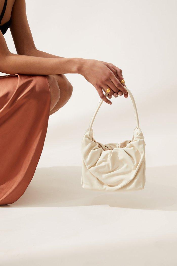 Felix Leather Top Handle Bag