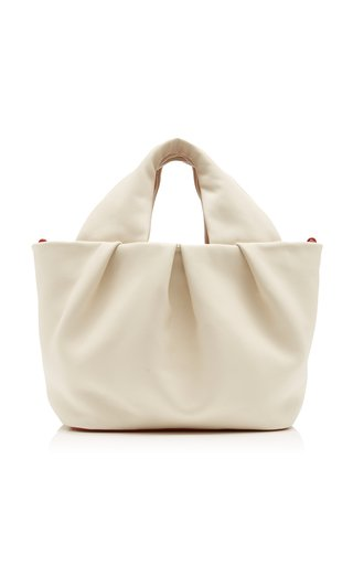 Lera Leather Top Handle Bag