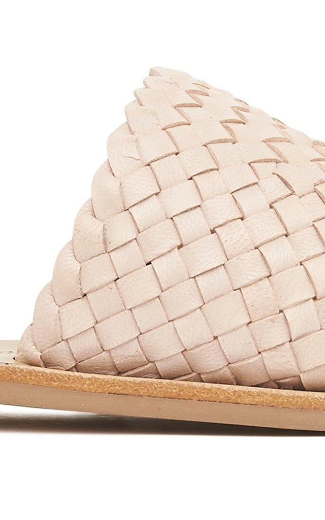 Alice Woven Leather Sandals