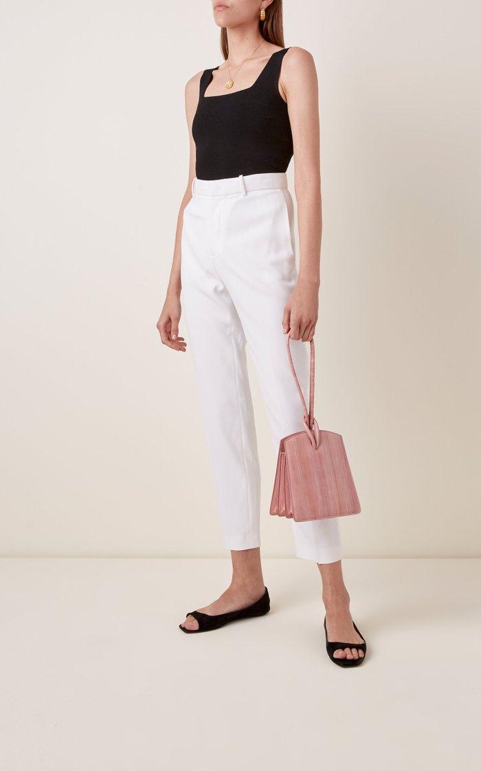 Loop Eel-Skin Top Handle Bag