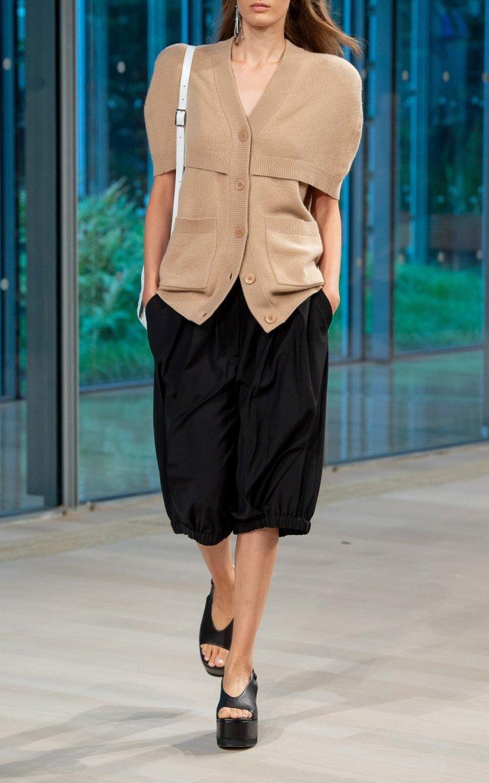 Tropical Wool Bloomer Shorts