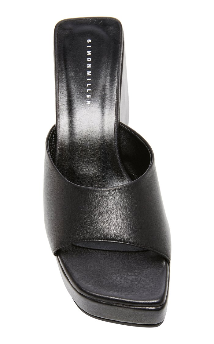 Level Leather Wedges