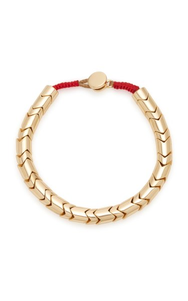 Golden Wave Gold-Plated Bracelet