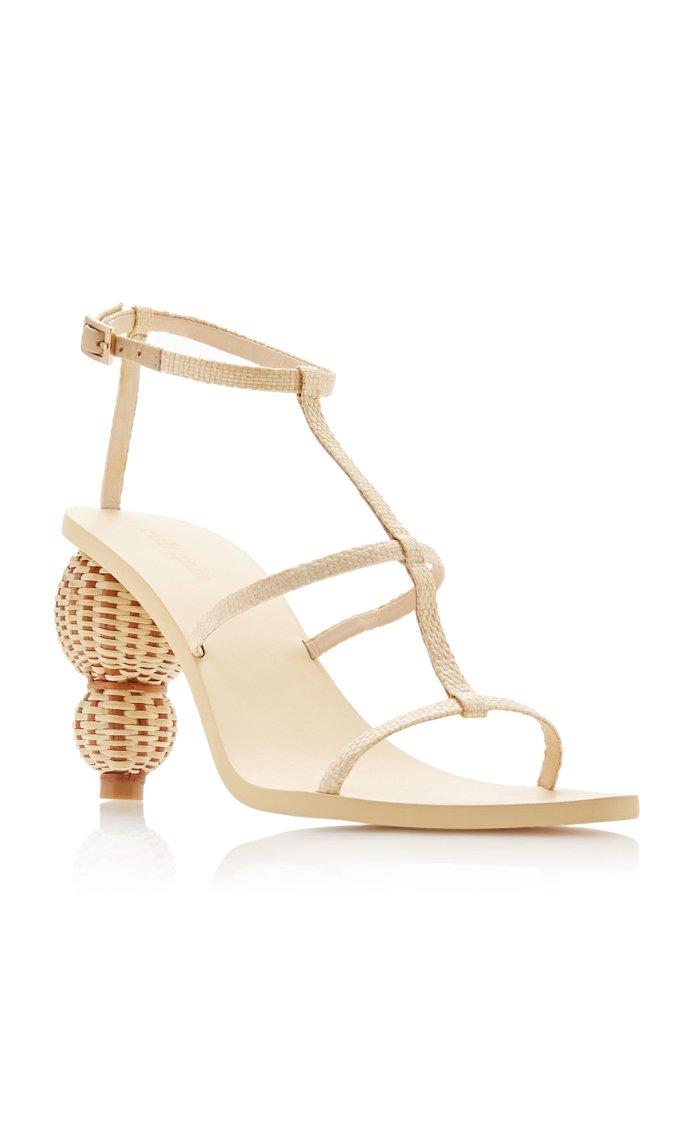 Eden Woven Leather Sandals