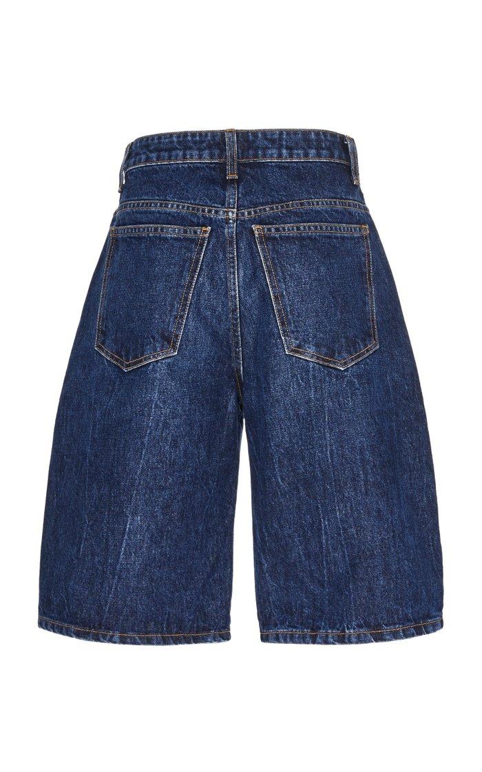 Mitch Rigid High-Rise Denim Shorts