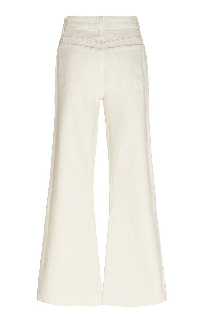 Gabbie Rigid High-Rise Flared Jeans