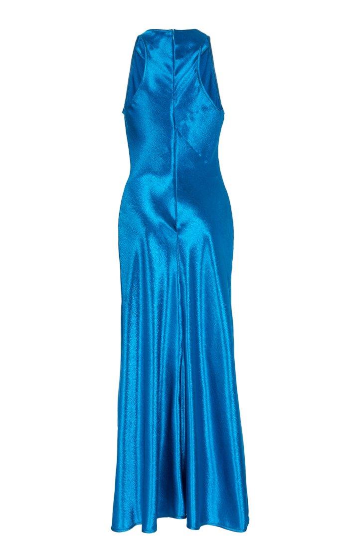 Andy Satin Midi Dress