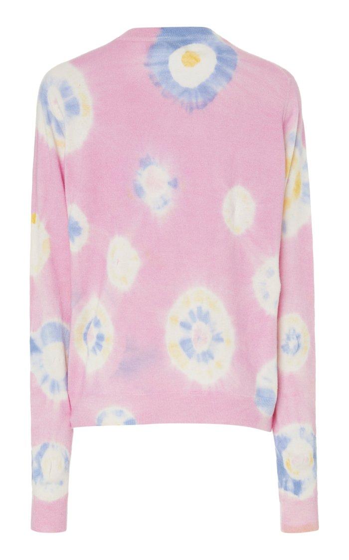 Tie-Dye Cashmere Sweatshirt