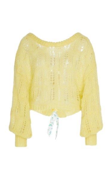 Eugenia Tie Back Sweater