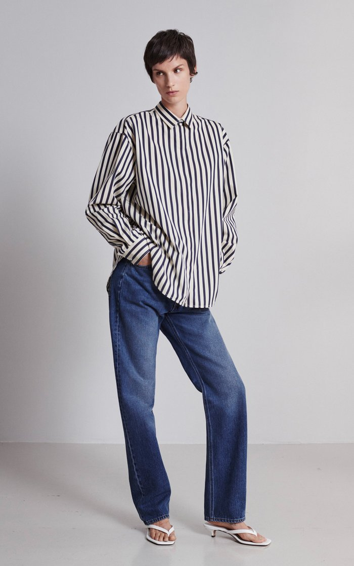 Ease Rigid Straight-Leg Jeans