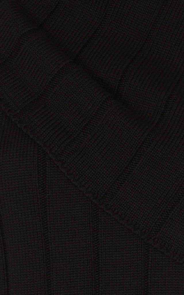 Ribbed-Knit Cotton Tank