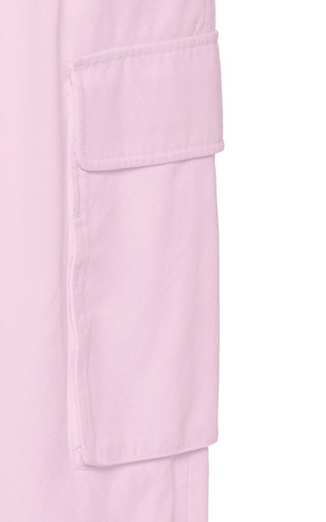 Nylon Pleated Cargo Pant