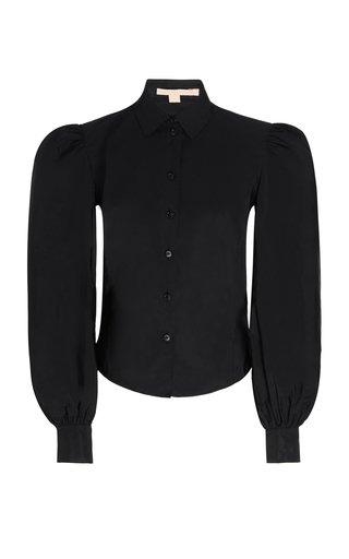 Bishop-Sleeved Blouse