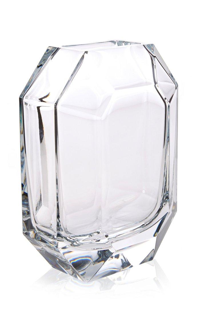 Octogone Crystal Vase