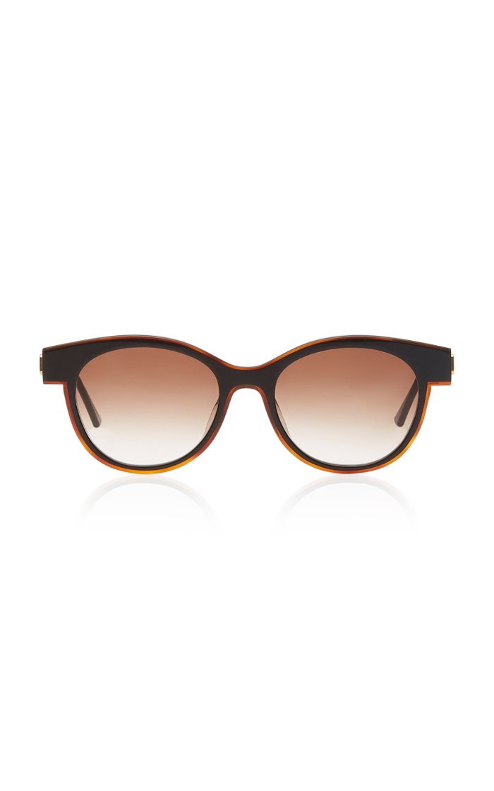 Lytchy Round-Frame Acetate Sunglasses