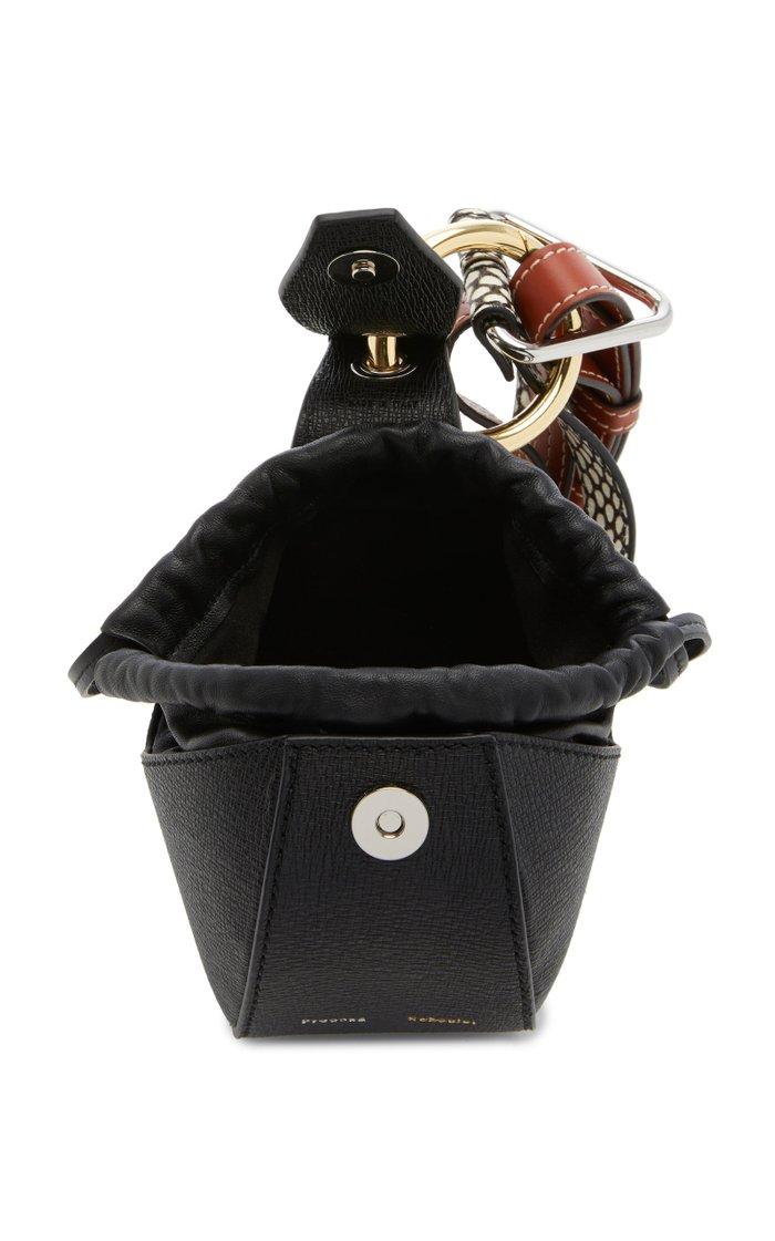 Mini Leather Top Handle Bag