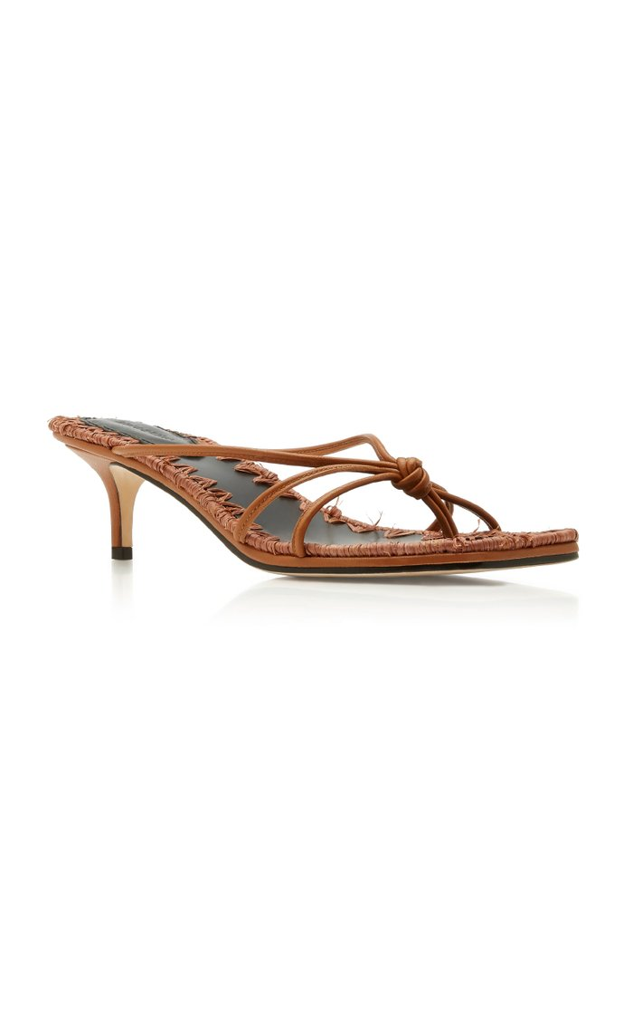 Azeline Leather Sandals