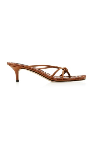 Azeline Leather Sandals
