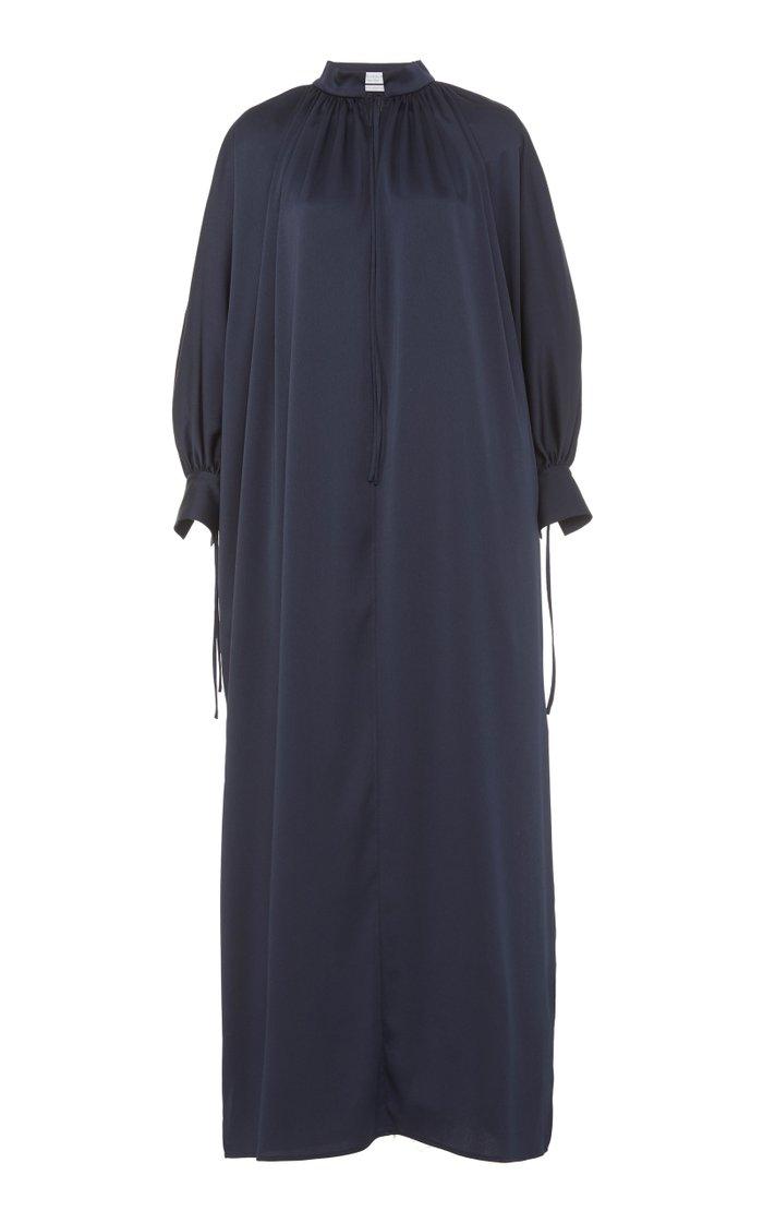 Whitney Satin Maxi Dress