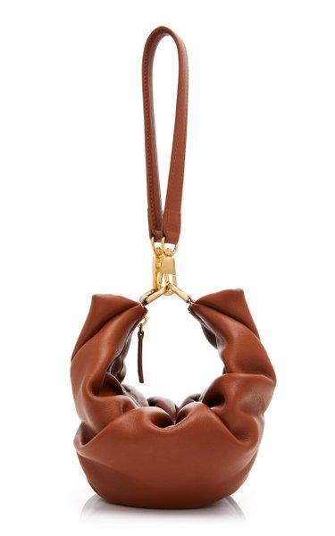 Croissant Leather Shoulder Bag