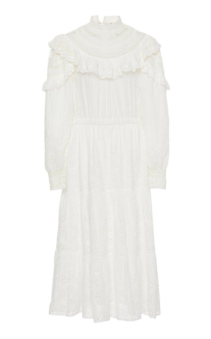 Daisy Cotton Midi Dress