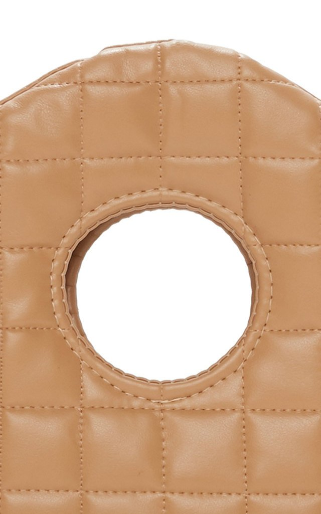 Liv Quilted Faux Leather Clutch