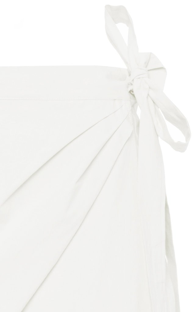 Ponza Cotton-Poplin Mini Skirt