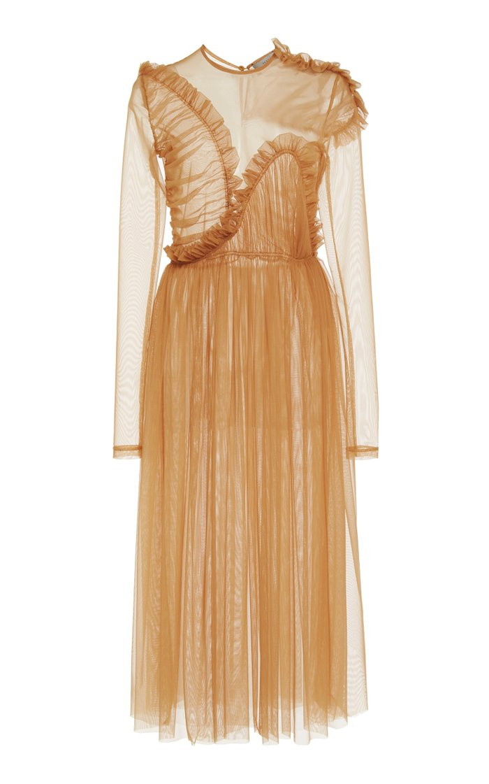 Echo Sheer Tulle Dress