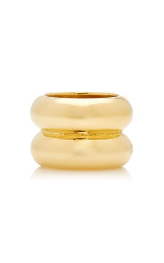 Breve Gold-Tone Vermeil Ring
