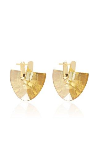 Wama Ihem 18K Gold And Quartz Earrings