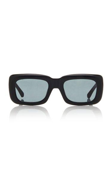 x Linda Farrow Marfa Acetate Square Sunglasses