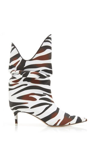 Zebra Print Tate Boots