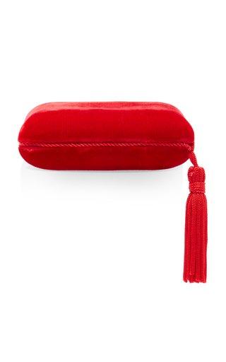 Tasseled Velvet Jewelry Box