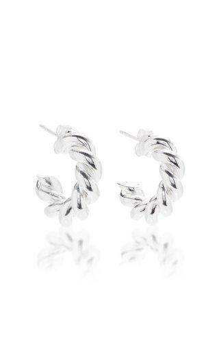 Extra Small Sterling Silver Hoop Earrings