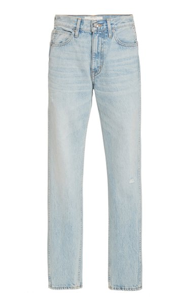 Virginia High-Rise Straight-Leg Jeans