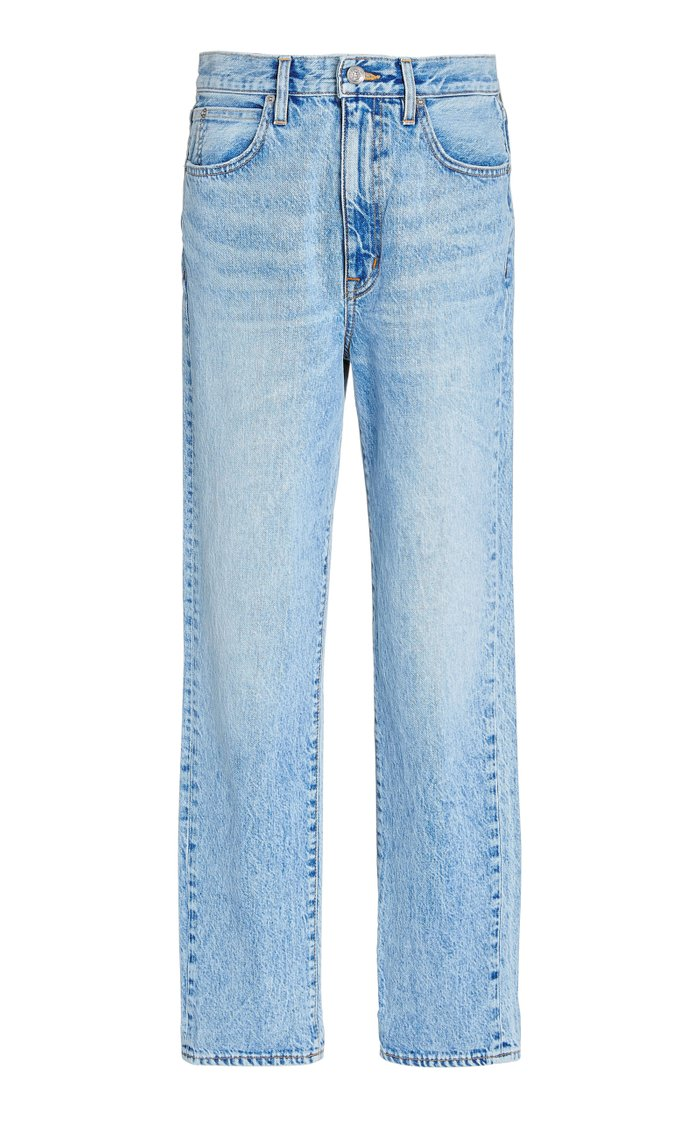 Dakota High-Rise Straight-Leg Jeans